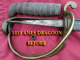 Ames 1833 Dragoon
